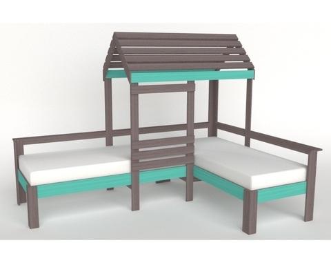 Кровать-домик АВАРА-4 левая