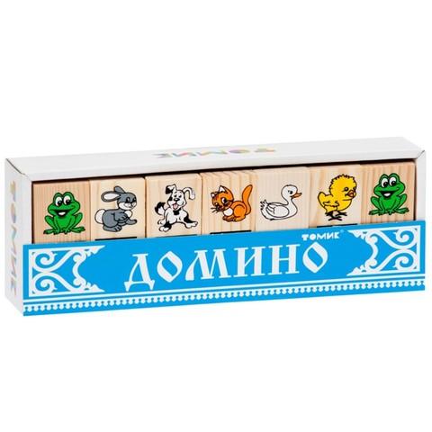 Детское домино Томик Животные арт. 5555-1
