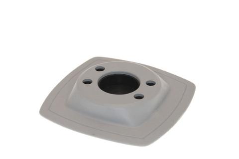Монтажная ПВХ-площадка на надувной борт Mp224, 110 х 110 мм, серая