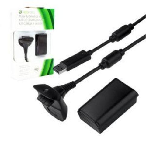 Зарядный комплект (2 в 1) (для контроллера Xbox 360)