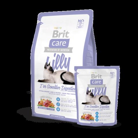 Brit Care Lilly Sensitive Digestion Сухой корм для кошек с чувствительным желудком