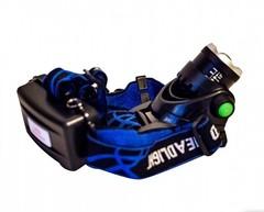 фонарь налобный аккумуляторный светодиодный Q19 изображение