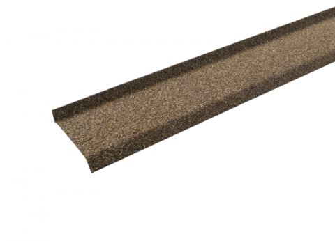 Цокольная планка Технониколь Hauberk песчаный 17х85х20х1250 мм