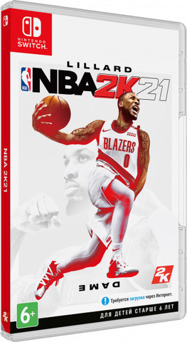 NS: NBA 2K21 (английская версия)