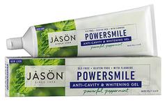 """Отбеливающая гелевая зубная паста """"Сила улыбки"""", Jason"""