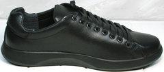 Кожаные кроссовки мужские GS Design 5773 Black