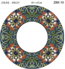 Эскиз для росписи, Зеркало диаметр-45см, SMAR-ZBK-10