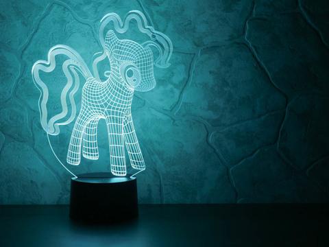 Art-Lamps Little Pony