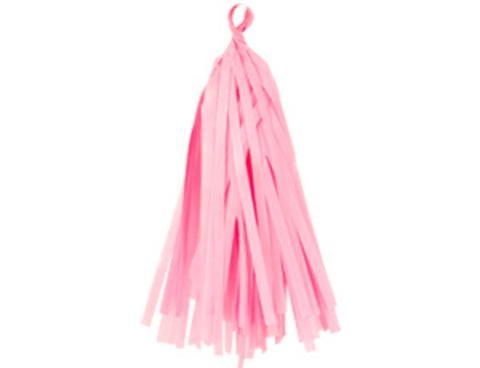 Гирлянда Тассел розовая