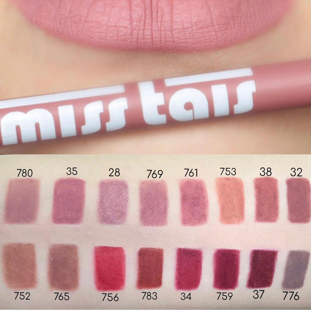 Карандаш для губ Miss Tais 756