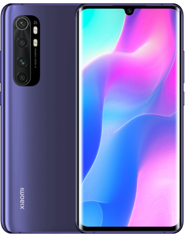 Смартфон Xiaomi Mi Note 10 Lite 6/64Gb Nebula Purple (фиолетовый) Global Version