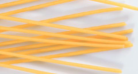 Греческие спагетти с дырочками Bucatini MAKVEL 500 гр.