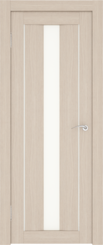 Дверь София (1С2М) (S-4) (беленый дуб, остекленная экошпон), фабрика Zadoor