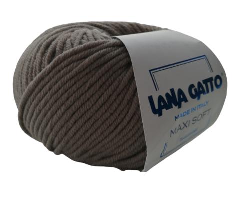 Пряжа Lana Gatto Maxi Soft 13777 тауп