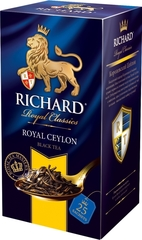 """Чай черный """"Richard"""" Royal Ceylon 2г*25"""