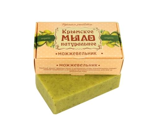 МДП Крымское натуральное мыло на оливковом масле МОЖЖЕВЕЛЬНИК, 100г