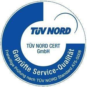 TUV сертификат одобрения продукции