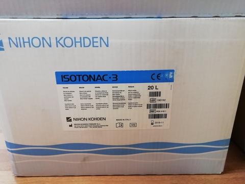 MEK-6401/MEK-640I Изотонический разбавитель Изотонак 3 (Isotonac-3 MEK-640 I), 20л - Nihon Kohden Firenze S.r.l., Италия (арт.MEK-640I)