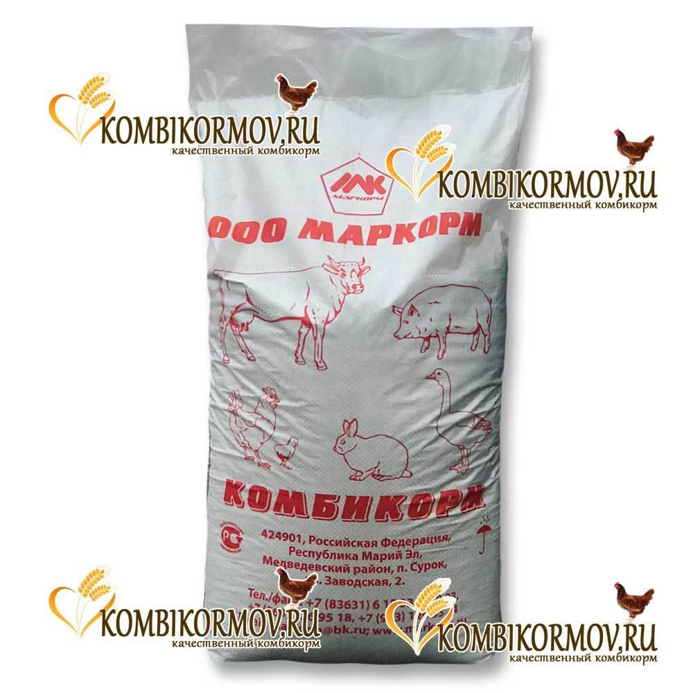 Комбикорм полнорацион. для перепелов ДК -52 Маркорм