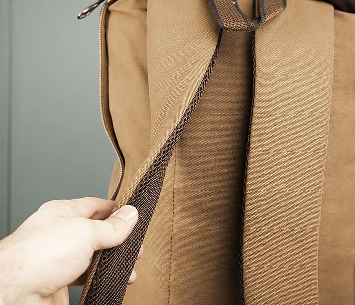 BAG365-2 Рюкзак-трансформер из плотного текстиля фото 10