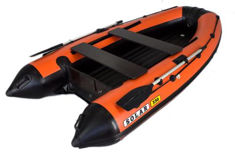 Надувная ПВХ-лодка Солар Максима - 330 (оранжевый)