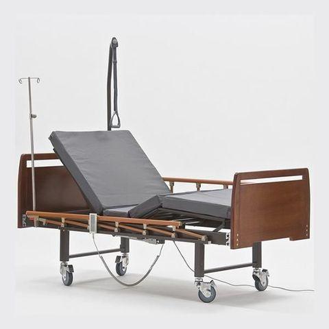 Кровать для лежачих больных Е-8 WOOD WC - фото