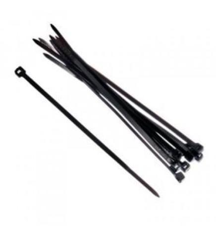 Хомут нейлон 2,5х100мм для стяжки, черный (100шт.)