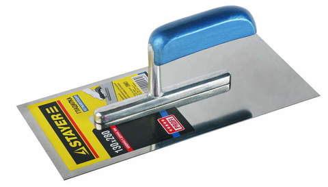 STAYER Profi 130х280 мм, гладилка штукатурная нержавеющая с деревянной ручкой