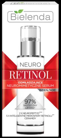 NEURO RETINOL Омолаживающая нейромиметическая сыворотка день/ночь 30мл