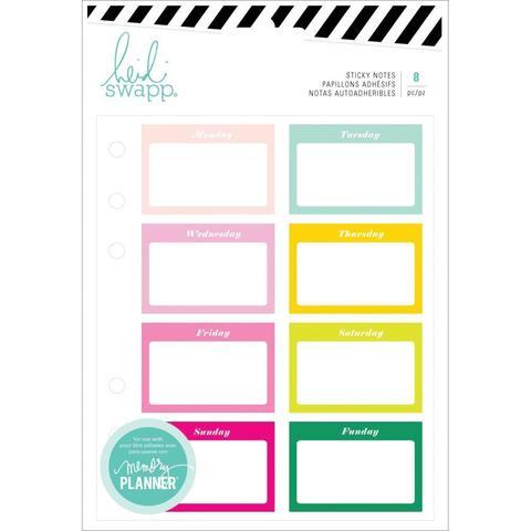 Стикеры для записей. Heidi Swapp Memory Planner Sticky Notes -Color Fresh