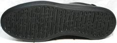 Черные кроссовки с черной подошвой мужские GS Design 5773 Black