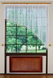 Полуарка со стеклярусом. Businka-2 (крем)