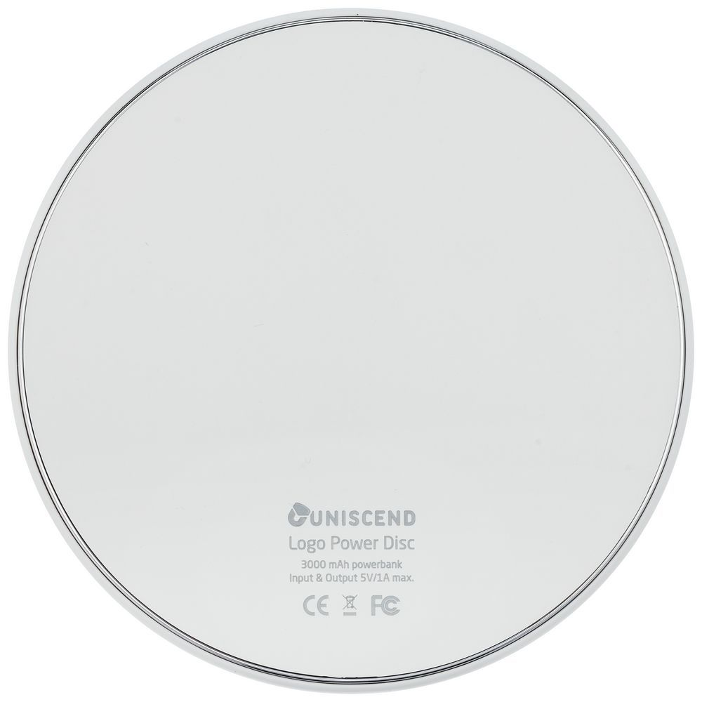 Uniscend Disc Power Bank, 3000 mAh