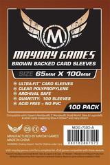 Протекторы Mayday: Brown Backed Magnum Copper Sleeve 65X100 (100)