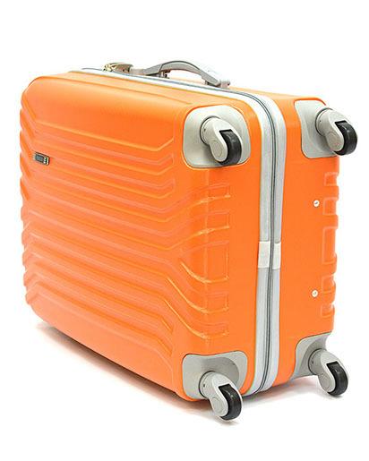 Чемодан Ananda пластиковый APL-833 Оранжевый (S)