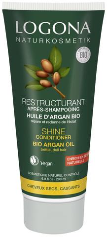 LOGONA Кондиционер для Блеска волос с Био-Аргановым маслом