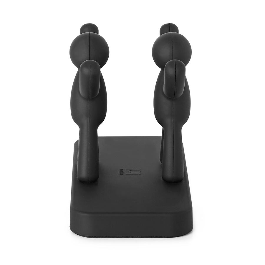Салфетница Buddy черная Umbra 330281-040 | Купить в Москве, СПб и с доставкой по всей России | Интернет магазин www.Kitchen-Devices.ru