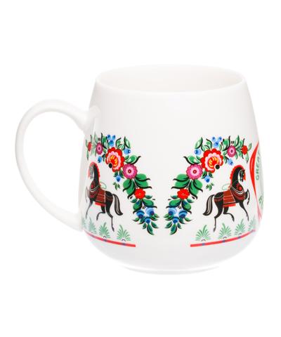"""VELIKOROSS mug """"Black horses"""""""