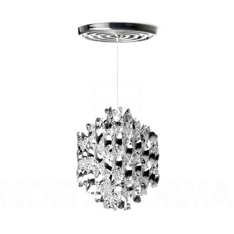 Подвесной светильник копия Spiral SP01 by Verpan Panton (серебряный)