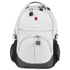Рюкзак Wenger, серый, со светоотражающими элементами, 33х15х45 см, 22 л