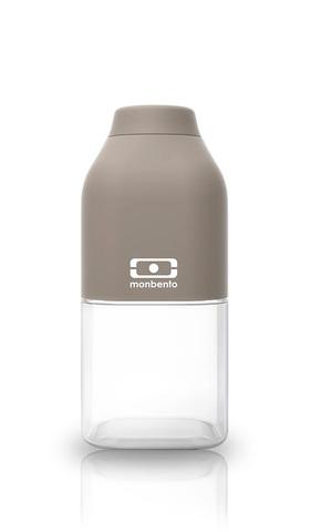 Бутылка Monbento Positive (0,33 литра), серая