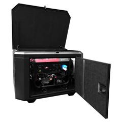 Готовый комплект аварийного питания на 7 кВт бензиновый генератор FUBAG BS7500A ES в еврокожухе SB1200 с АВР (блоком автоматического запуска)