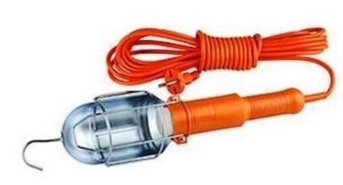 Удлин-ль Переноска под лампу Е27, с выкл, 10м