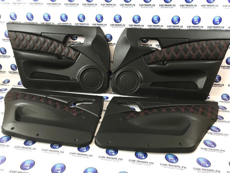 Еврообшивки на ВАЗ 2110-12 со вставками из экокожи