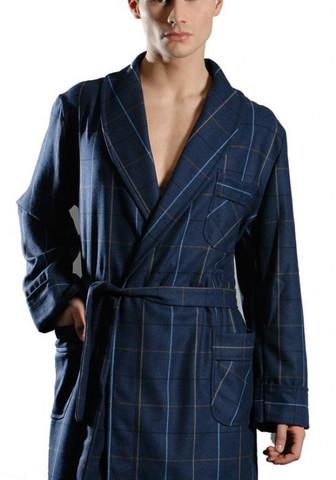 Шерстяной мужской халат