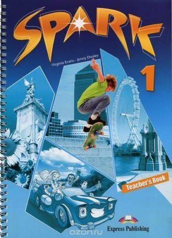 Spark 1 (Monstertrackers). Teacher's Book (interleaved). Книга для учителя