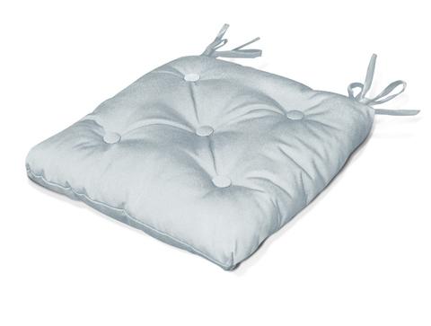 Подушка на стул Рондо серый уличная коллекция