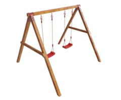 Детские деревянные игровые качели Конго