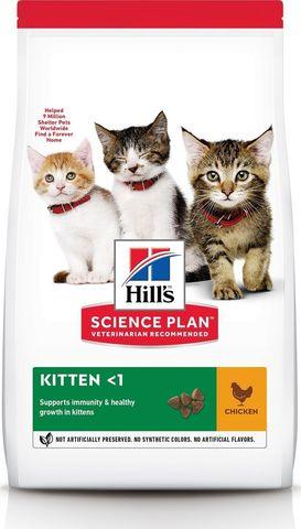 Hill's сухой корм для котят (курица) 300г