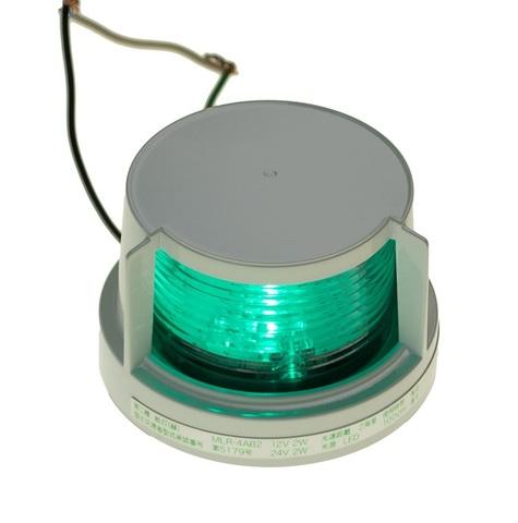 Огонь бортовой светодиодный зеленый Koito, 112.5